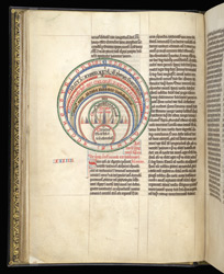 Diagram Of The Five Zones Of The Earth, In A Collection Of Treatises On The Computus By Bede And Others